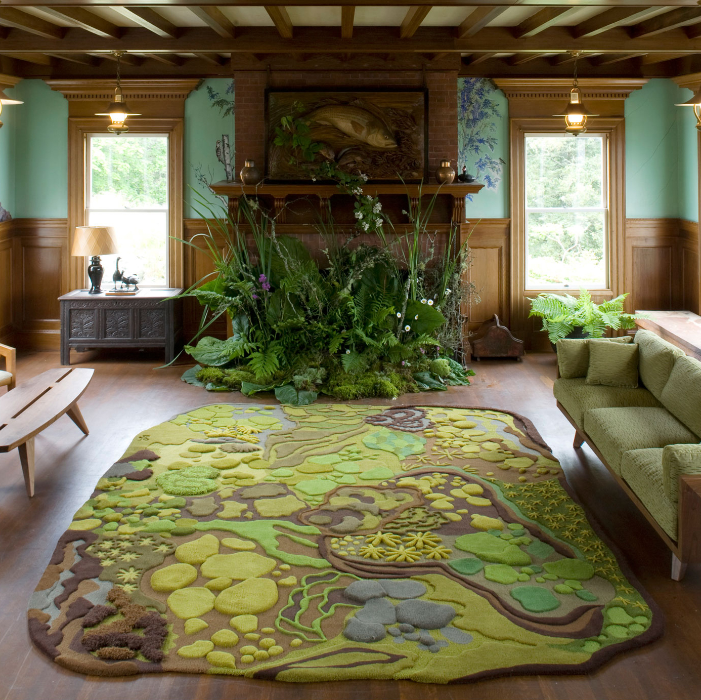 A Hiker S Dream Rug Gregory Han